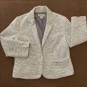Lucky Brand Tweed Blazer Jacket